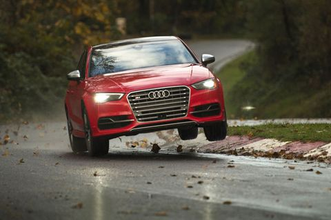 2015 Audi S3 meets its match on wild mountain roads