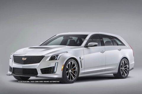 Cadillac Cts V Wagon For Sale >> The Cadillac Cts V Wagon That We Ll Never See