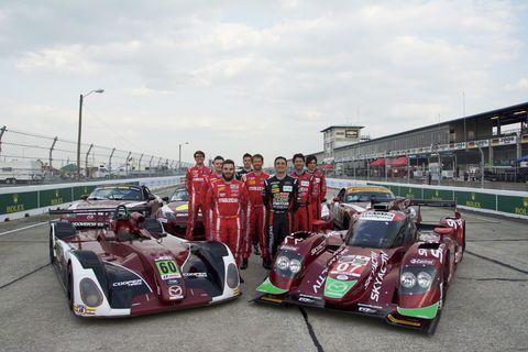 Mazda is racing's most active angel investor