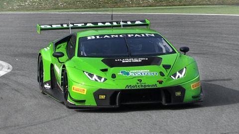 Lamborghini Huracan GT3 at Monza