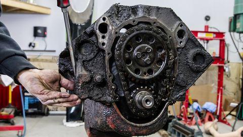 Hagerty smallblock V8 rebuild