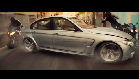 BMW M3 in Mission: Impossible 5