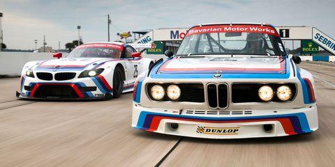 BMW Z4 GTLM and IMSA 3.0 CSL