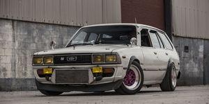 Kevin Harris' 1JZ Toyota Corona Wagon
