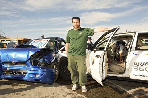 John Krewson is the Crash Test Human