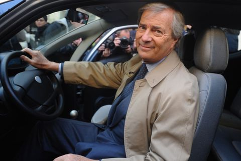 Vincent Bollore of Autolib and Blueindy