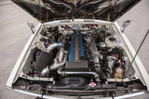 I survived a 400-horsepower Toyota Corona wagon