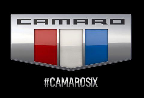 Camaro Six Badge