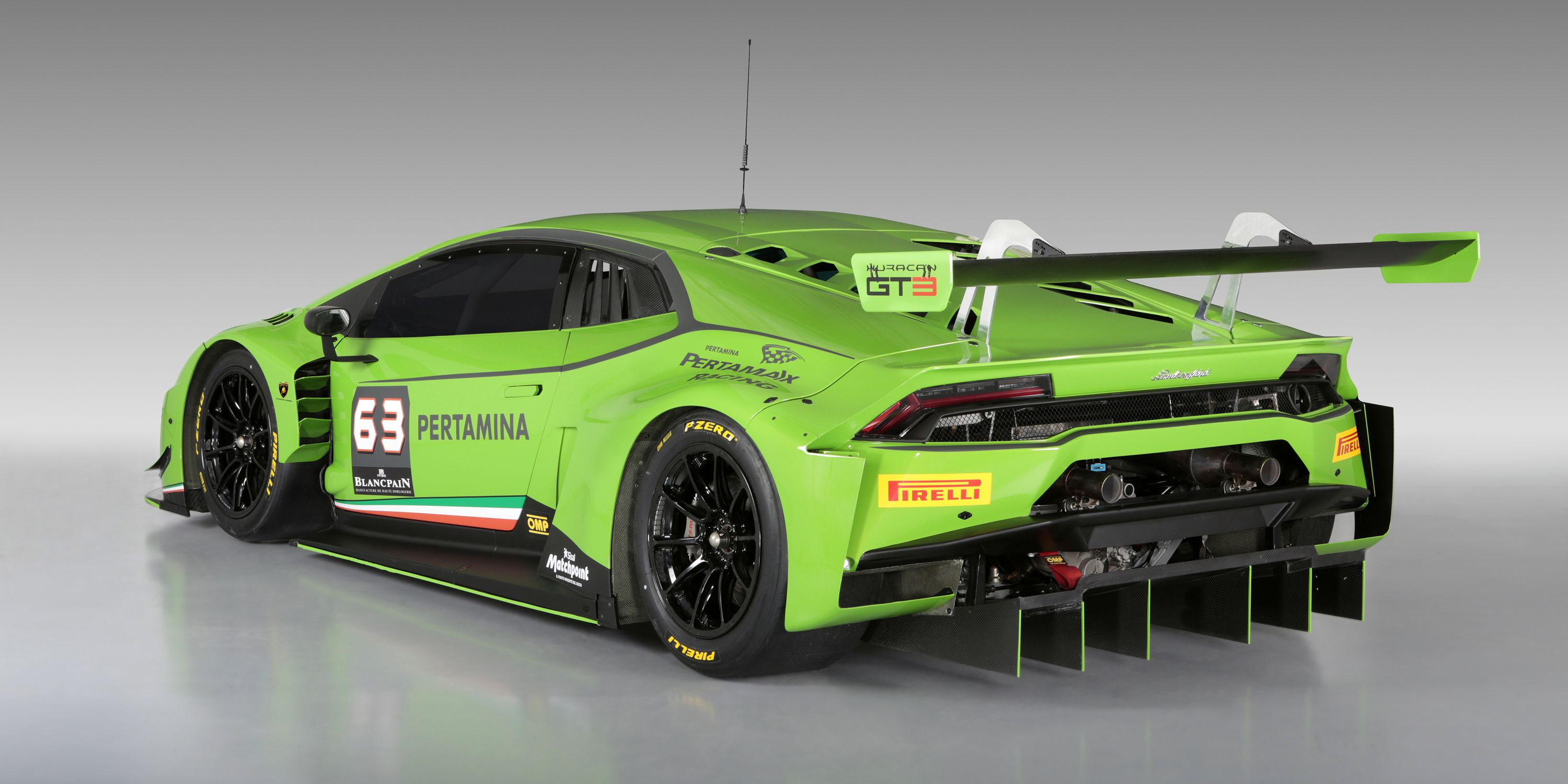 This Lamborghini Huracan Gt3 Is Ready To Race