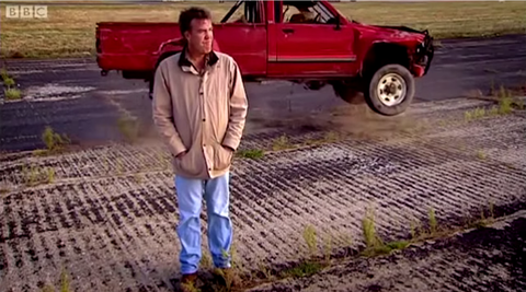 Jeremy Clarkson and the Hilux