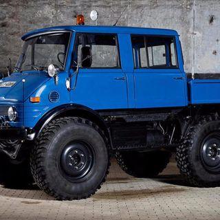 Buy this ex-Luftwaffe 1975 Mercedes-Benz Unimog