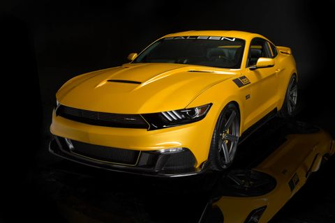 Saleen 302 Black Label Mustang makes 730 hp, costs $73K