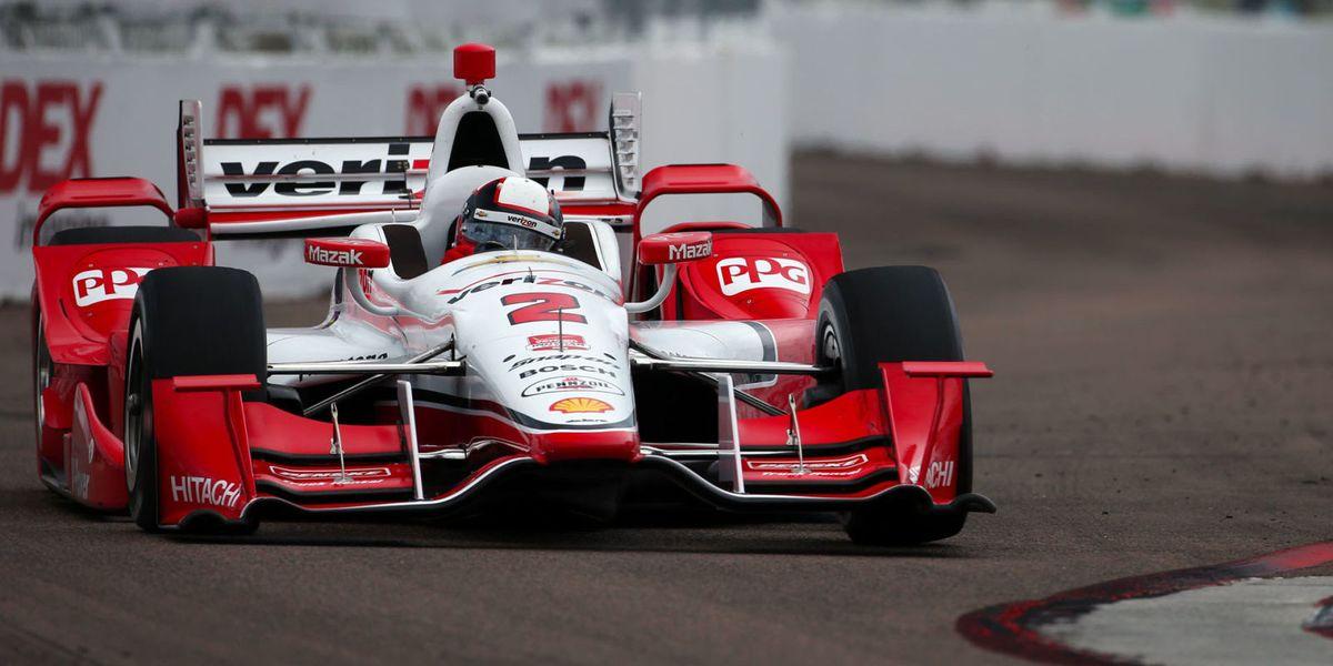 Car Auction Apps >> Juan Pablo Montoya wins 2015 IndyCar opener