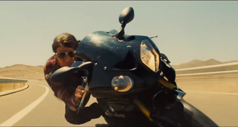 Tom Cruise in Mission: Impossible 5