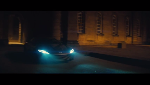 Here's the teaser trailer for SPECTRE