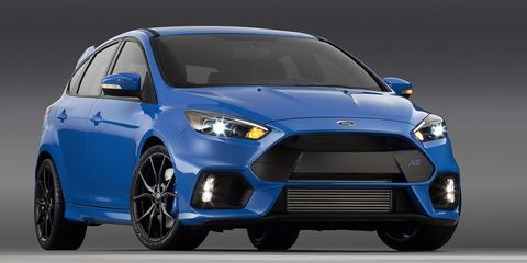 Ford Focus RS hits U.S. dealers in Spring 2016