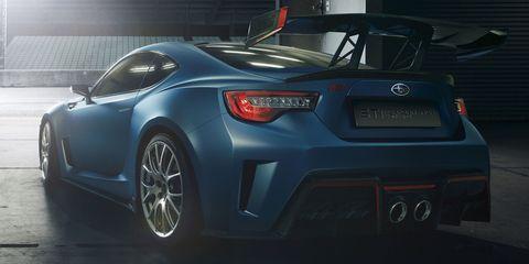 Subaru STI Concept BRZ - The Official Photos