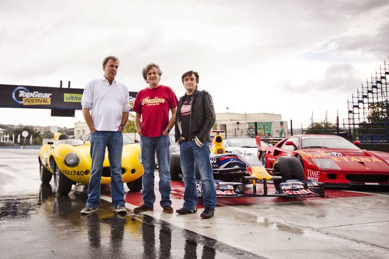 Official: Top Gear's Clarkson, May, and Hammond Get New Show On Amazon
