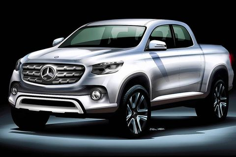 Mercedes-Benz Pickup Concept