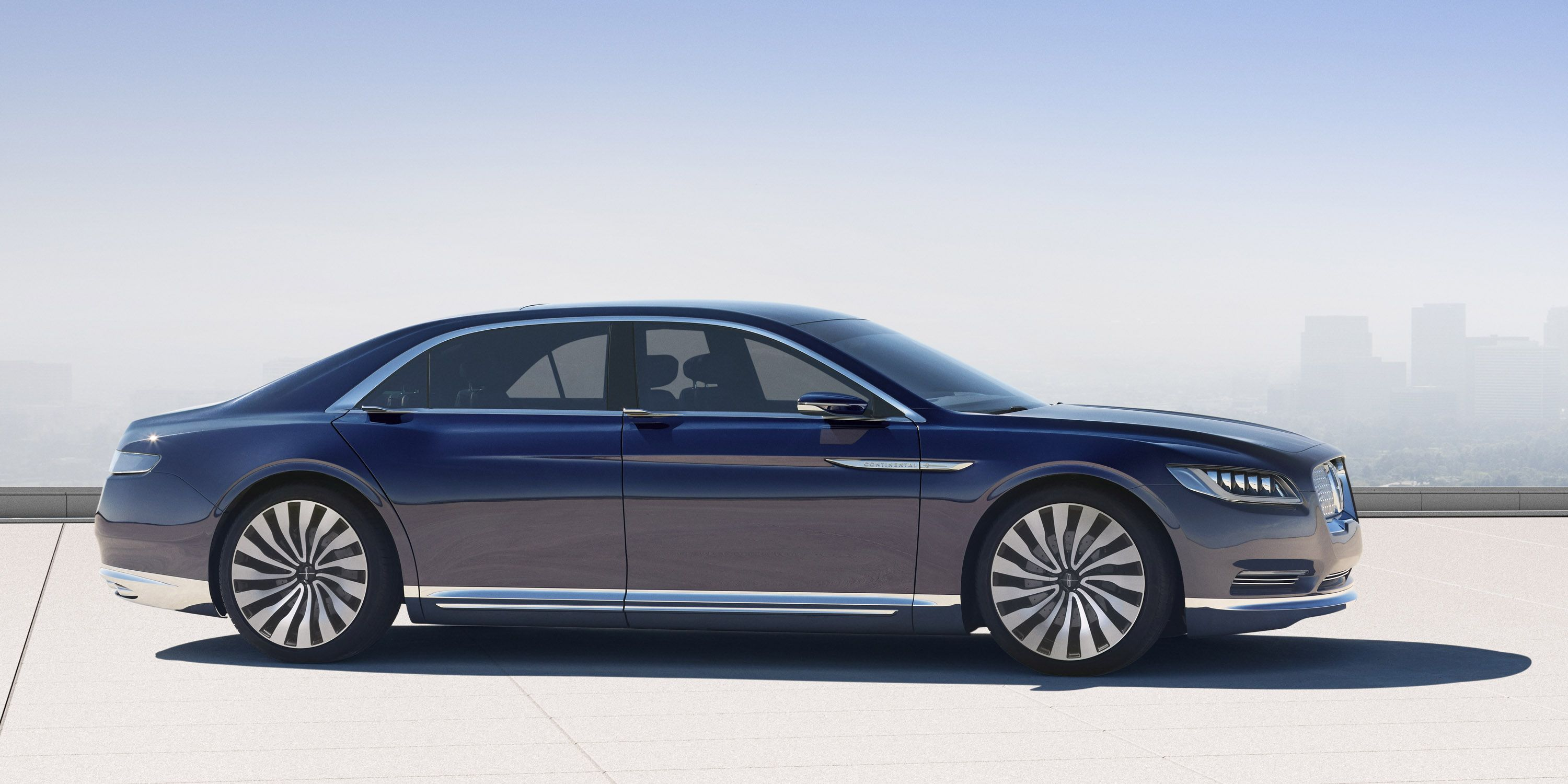 1427688296-lincolncontinentalconcept-02-profile Outstanding Lincoln Continental New York Auto Show Cars Trend