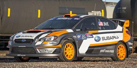2015 Subaru WRX STI Global Rallycross