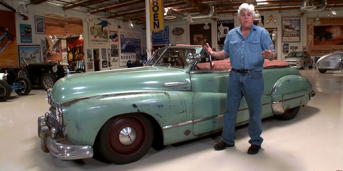 Car Auction Apps >> Leno drives the ZR1-powered ICON Derelict '48 Buick