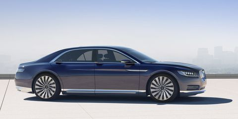 This is the Lincoln Continental concept