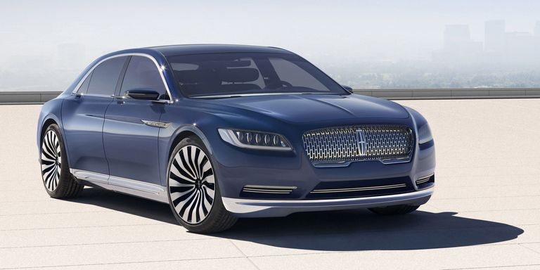 Call it a Comeback: Lincoln Continental goes on sale in 2016