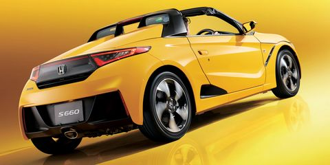 new car launches in japanNew drum same Beat Honda S660 launches in Japan