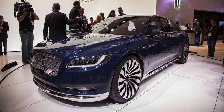 Lincoln Continental Concept live at NYIAS