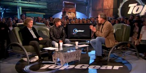 BBC dismantles the Top Gear set