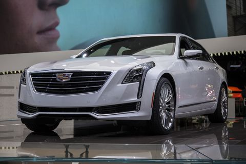 "Cadillac CT6 plug-in: ""More than double"" the MPG"