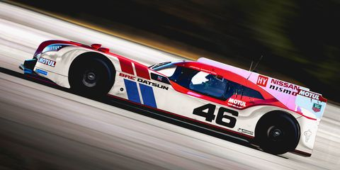 What if Nissan ran retro liveries on the GT-R LM NISMO?