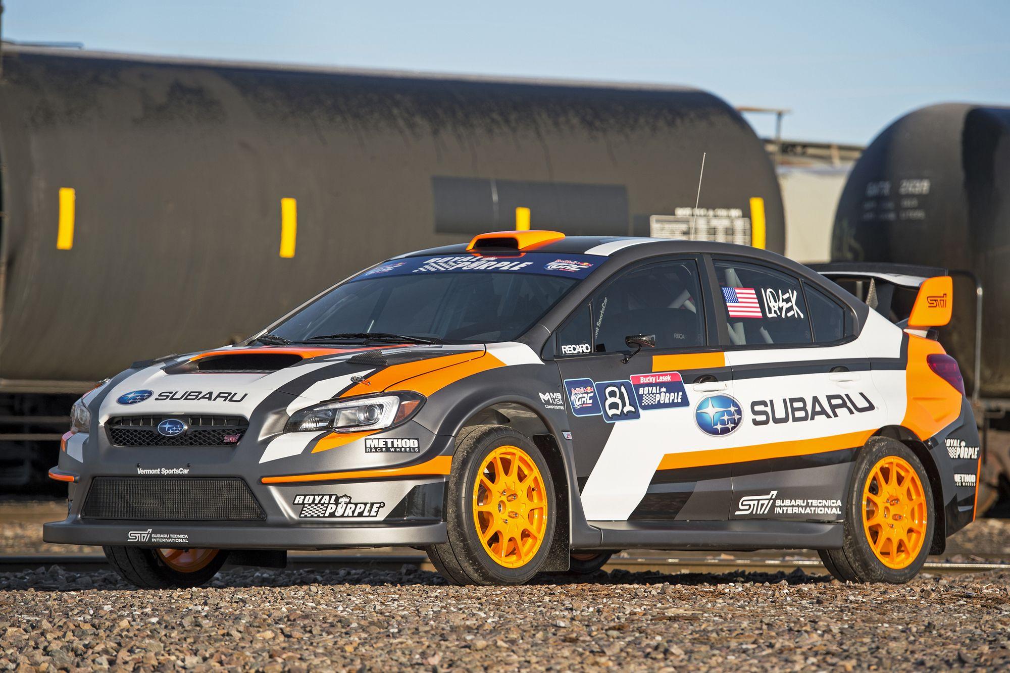 580-hp Subaru WRX STI Global Rallycross car revealed