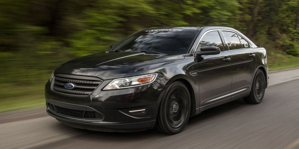 2016 Ford Taurus Sho >> This Is What A 550 Hp Taurus Looks Like