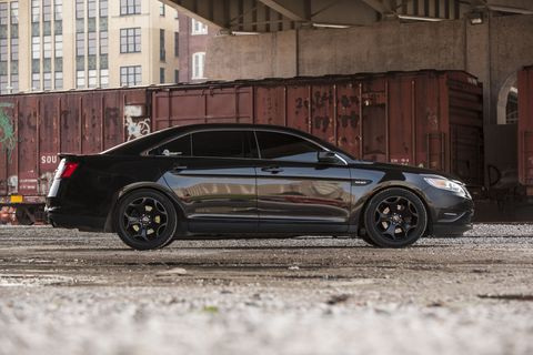 This is what a 550 hp Taurus looks like