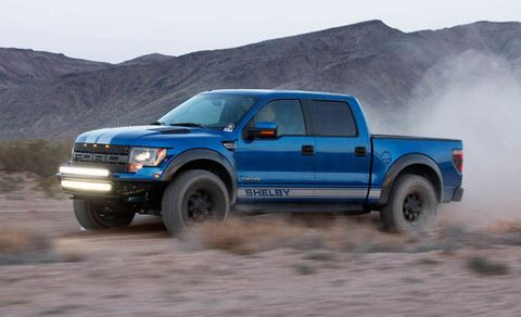 Shelby Ford Raptor now makes 700+ supercharged horses