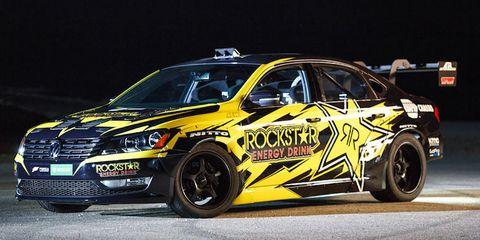 Tanner Foust Rockstar Volkswagen Passat