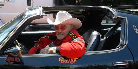 Burt Reynolds 1977 Pontiac Trans Am Special Edition Bandit Recreation