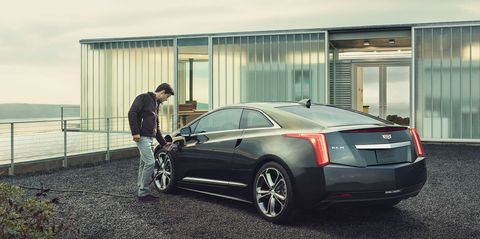 The ELR electrified luxury coupe will offer improved performance, more dynamic driving and higher levels of personal technology for the 2016 model year. Major product upgrades include a more than 25% boost in power and torque, faster acceleration that improves 0-60 mph by 1.4 seconds, higher top speed, retuned chassis and steering for better handling, more responsive brakes and a new Performance equipment package.