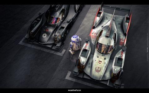 These Star Wars race liveries are awesome