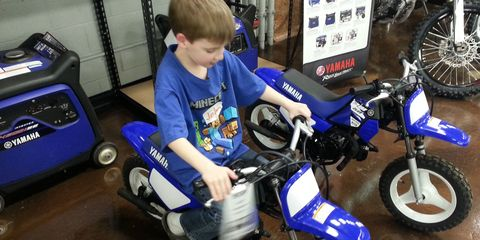 The motorcycle sins of the father: My kid gets a bike