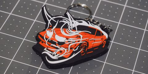 This Wangan Midnight Devil Z keyfob is a steal at $6.66