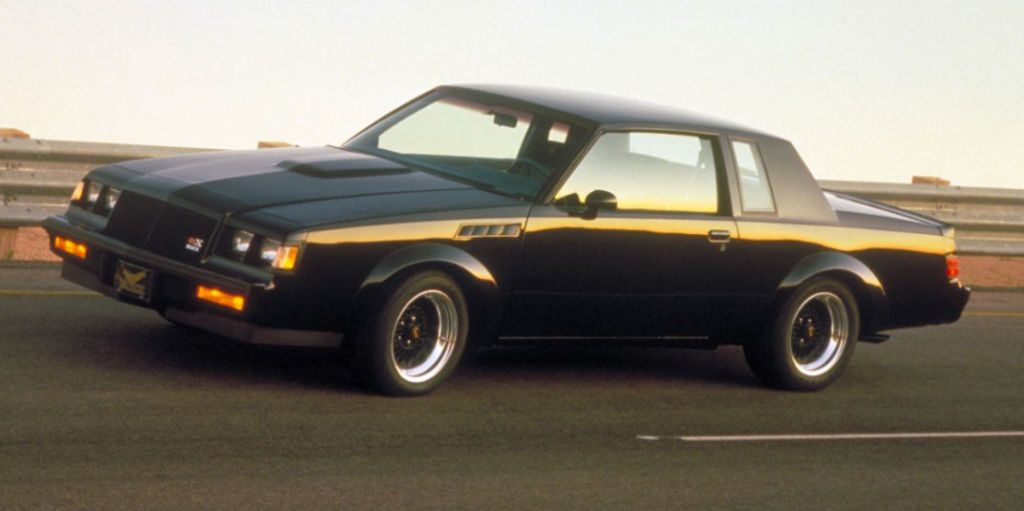 First Look Flashback: 1987 Buick GNX