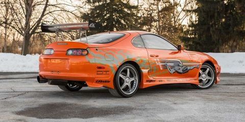 buy this paul walker toyota supra from the fast and the furious. Black Bedroom Furniture Sets. Home Design Ideas
