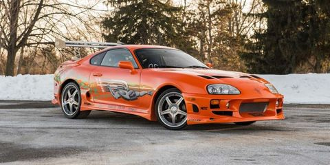 Buy this Paul Walker Toyota Supra from