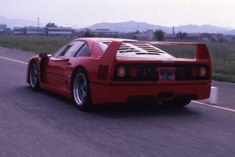 First Look Flashback 1987 Ferrari F40