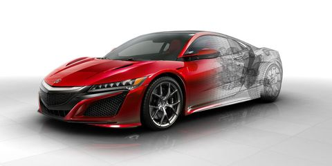 New, nerdy tech details on the Acura NSX