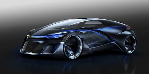 Chevrolet Fnr Concept Car Official Photos