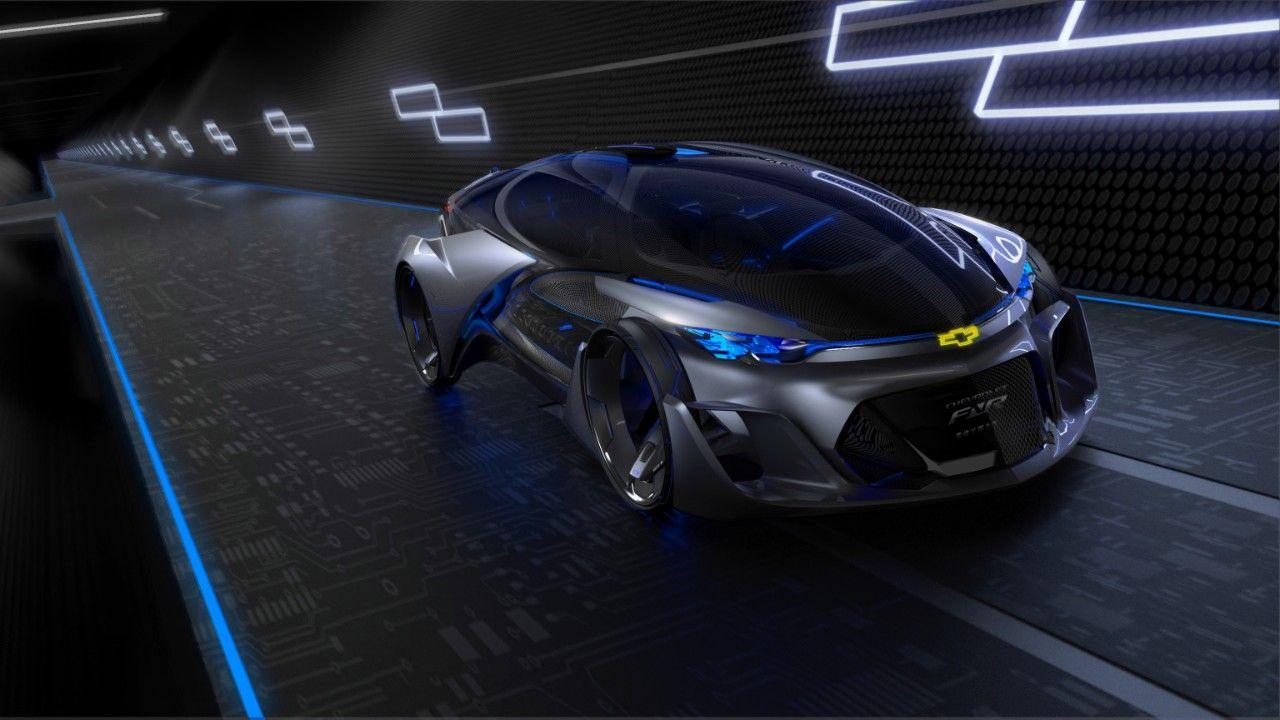 Chevrolet-FNR concept looks too good to be autonomous